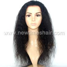 thin skin natural kinky curl hair wig