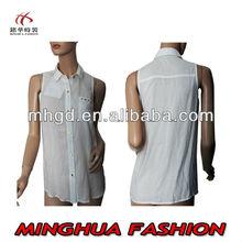 New Design simple fashion ladies top