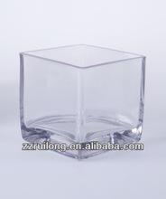 square glass vases for flower arrangements