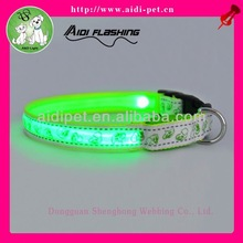 cheap led light dog collar/illuminated dog collar