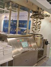 100L Hair cream emulsifier mxier PLC control