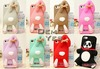 3D Rabbit panda bear silicone soft Case for iPhone 5 5S iPhone 4 4S