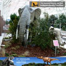 My Dino-Fiberglass animatronic animal figures elephant life size for sale