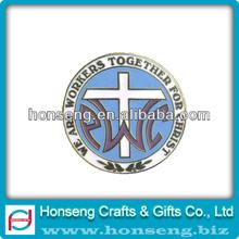 en alliage de zinc émail mol auto adhésif broches badge