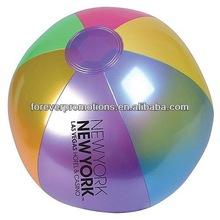 Metallic Beach Ball - 18""