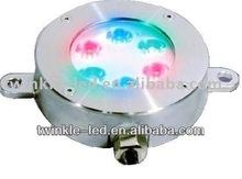 high quality long life 6w RGB led fountain light