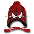 örümcek adam kostüm maske Perulu bere şapka