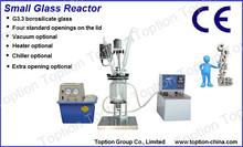 2L Small Borosilicate Glass Reaction Vessel
