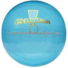 "Translucent Blue Beach Balls - 14"""