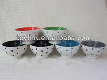 2014 best sell porcelain soup bowl and plate set