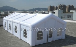 good price white inflatable tent H2046