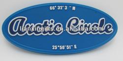 2d pvc soft fridge magnet