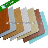 Melamine or PVC Laminated Plastic Coated Plywood