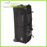 Military Luggage Zipper Luggage 2 Wheels Fabric Print Luggage