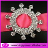 34mm crystal rhinestone buckle sliders ,Rhinestone Embellishment for invitation LX-G29