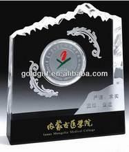 Fashionable promotional crystal block islam gift
