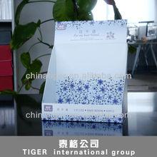 cardboard floor standing display high quality display cardboard display case