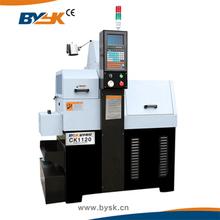 High speed and High Precision CK1120 Sliding head cnc machine