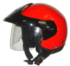 open half face motocycle helmet