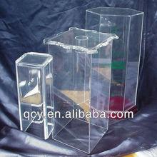 Factory Sale high quality fashion plastic bottle holder acrylic