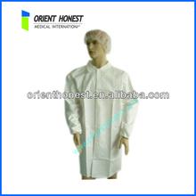 100% Cotton White Color Doctor Uniforms Doctor Coat Lab Coat