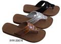 Sandalias de lujo para las niñas, sandalias planas para las niñas, modelo de moda sandalia 2013