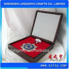 Custom nanmu solid wood award medals sports for club