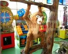 artificial animatronic amusement monkey