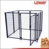 5x5x4 Black welded wire folding metal dog fence