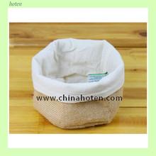jute storage bread basket bag