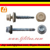 High quality decorative screws with epdm washers china manufacturer