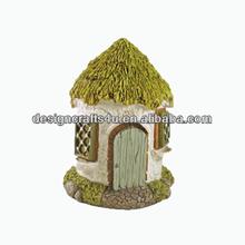 Green Pinnacle Enchanted Garden Fairy House Ornament
