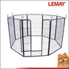 hot sale easy assembly 8 bars folding dog pen mesh