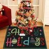 handmade christmas rugs