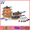High quality reasonable price widely used super cookware set