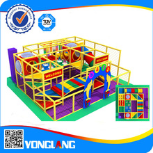 Indoor playground residential slide