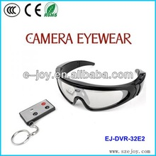 Waterproof Resolution 720p safety glasses with camera 32E2