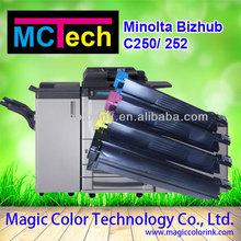 Compatible Toner Kits konica minolta bizhub copier c252