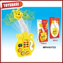 Cartoon design toy bass guitar