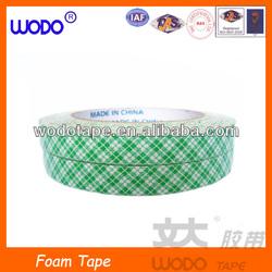 Custom size self adhesive double sided foam tape, foam tape