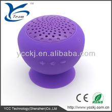 2013 fashion sucker wireless silicone bluetooth speaker for smart phones
