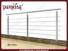 steel pipe railings for balcony/porch/veranda