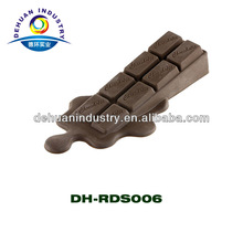 Novelty Melting Chocolate Silicone Rubber Door Stop Stopper Wedge