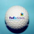 Mini 42mm PU estres pelotas de golf con logo personalizado impreso