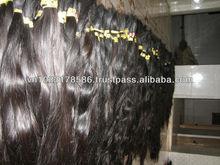 Best Price High Quality Dark Brown Virgin Single Drawn Hair