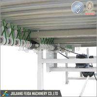 belt with metal mesh transmission roller conveyor