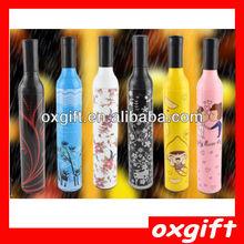 OXGIFT fashion design promotional gift wine bottle umbrella