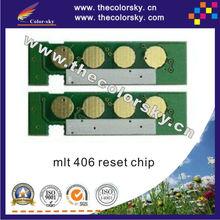 (TY-SCLT406) toner cartridge reset chip for samsung clt-406 CLX-3300 CLX-3302 CLX-3303 CLX-3303FW CLX-3304 CLP-365 bk/c/m/y