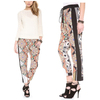 New Design Fashion Flower Printing Woman Ladies Pants