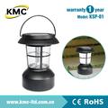 Conveniente para acampar unidad de mano linterna solar ksp-01